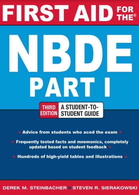 First Aid NBDE Part 1 3rd Edition PDF Free Download