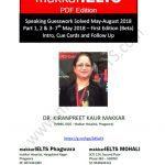 Makkar IELTS Speaking Guesswork Solved 2021 PDF Free Download