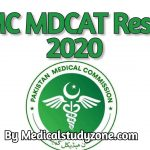 PMC MDCAT Result 2020 - Enter Roll No or Name and Father Name