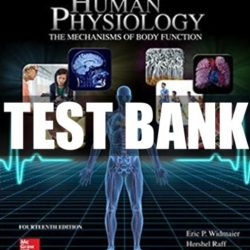 Vander's Human Physiology PDF Free Download
