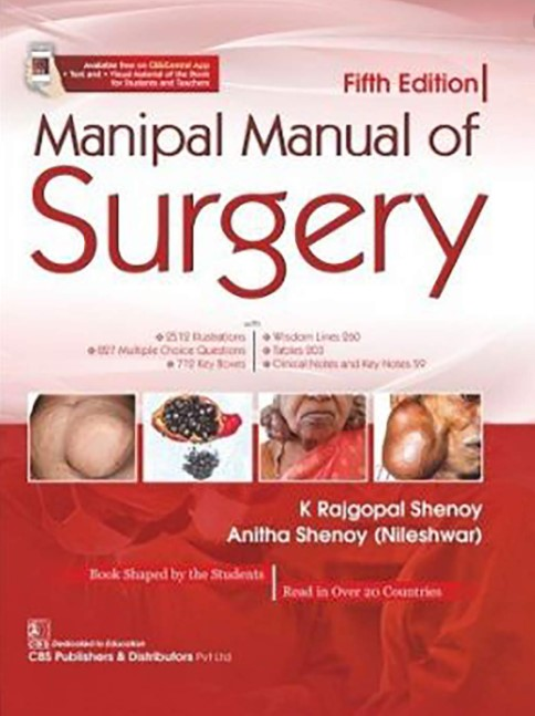 Manipal Manual of Surgery 5th Edition PDF Free Download