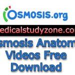 Osmosis Anatomy Videos 2021 Free Download
