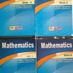 All Allen Mathematics Modules PDF 2021 Free Download