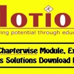 All Motion Chemistry Modules PDF 2021 Free Download