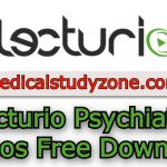 Lecturio Psychiatry Videos 2021 Free Download
