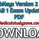 Download PlabKeys Version 2 for PLAB 1 Exam (2021) Updated PDF Free