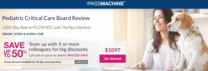 The PassMachine Pediatric Critical Care Board Review 2021 Videos and QBank Free Download