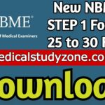 Download New NBME STEP 1 2021 Forms 25 to 30 Free