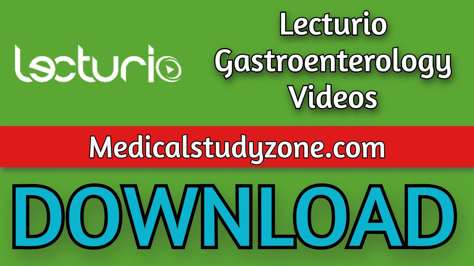 Lecturio Gastroenterology Videos 2021 Free Download