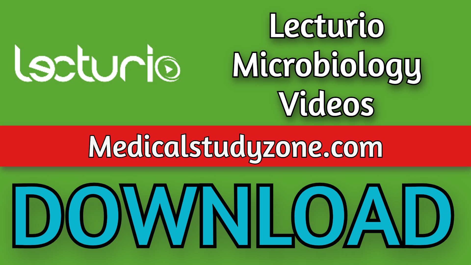 Lecturio Microbiology Videos 2021 Free Download