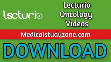 Lecturio Oncology Videos 2021 Free Download