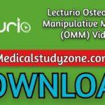 Lecturio Osteopathic Manipulative Medicine (OMM) Videos 2021 Free Download