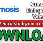 Osmosis Embryology Videos 2021 Free Download
