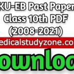 AKU-EB Past Papers Class 10th PDF (2008-2021) Free Download