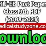 AKU-EB Past Papers Class 9th PDF (2008-2021) Free Download