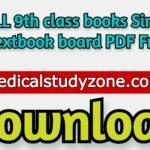 ALL 9th class books Sindh Textbook board PDF Free Download