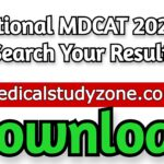 National MDCAT 2021 - Search Your Result