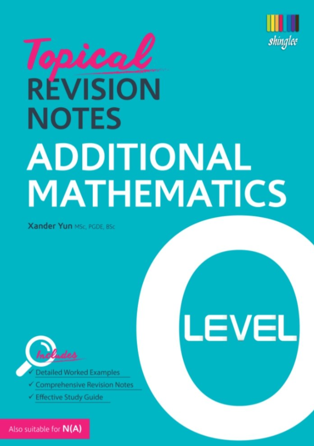 Topical Revision Notes Additional Mathematics O Level PDF Free Download