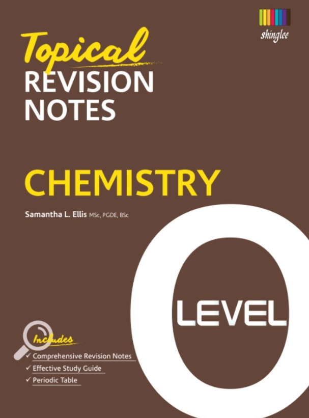 Topical Revision Notes Chemistry O Level PDF Free Download