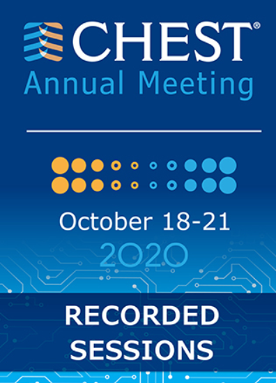 CHEST Annual Meeting 2020 Recorded Sessions Videos Free Download