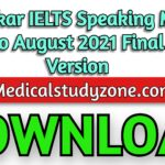 Makkar IELTS Speaking May to August 2021 Final Version Free Download
