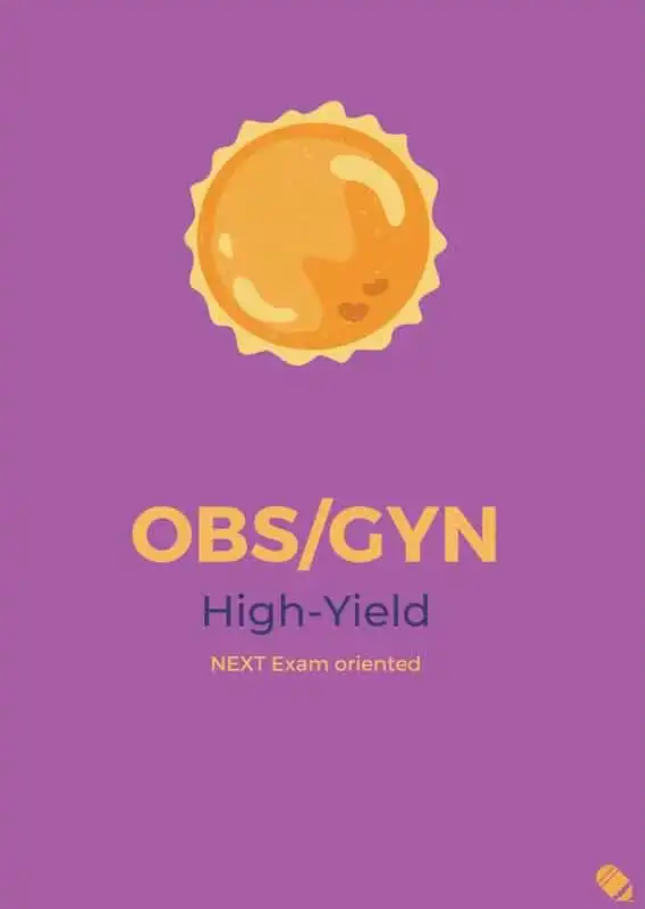 Last Minute Revision – OBS/GYN High-Yield PDF Free Download