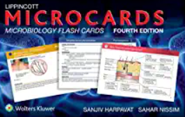 Lippincott Microcards: Microbiology Flash Cards 4th Edition PDF Free Download