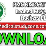 PMC NMDCAT 2021 Leaked MCQs By Hackers PDF Free Download