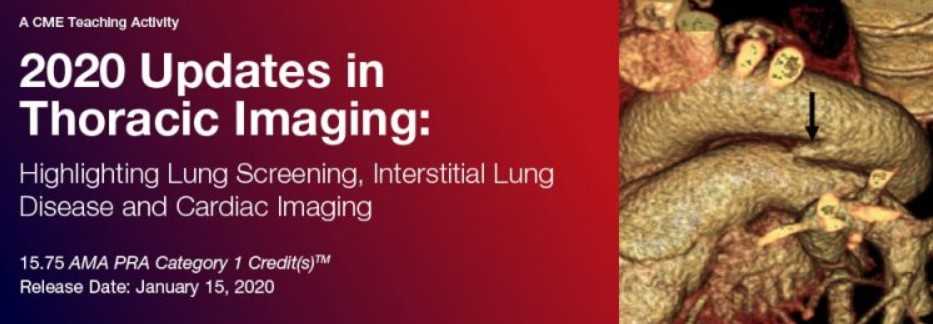 Download 2020 Updates in Thoracic Imaging: Highlighting Lung Screening, Interstitial Lung Disease, and Cardiac Imaging Videos Free