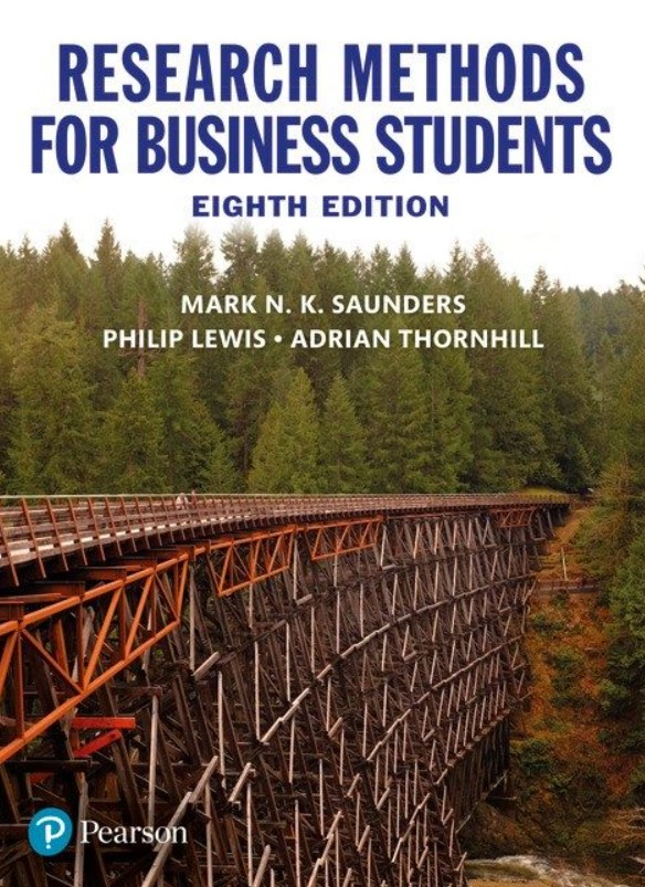 Research Methods for Business Students 8th Edition PDF Free Download